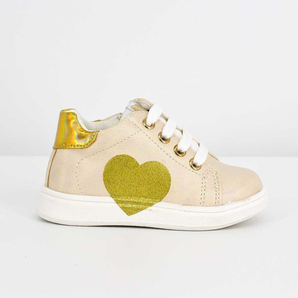 Immagine di MARJROSE - Sneakers primi passi con sottopiede in pelle