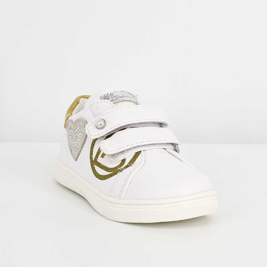 Immagine di LAURA BIAGIOTTI - Sneakers primi passi con sottopiede in pelle