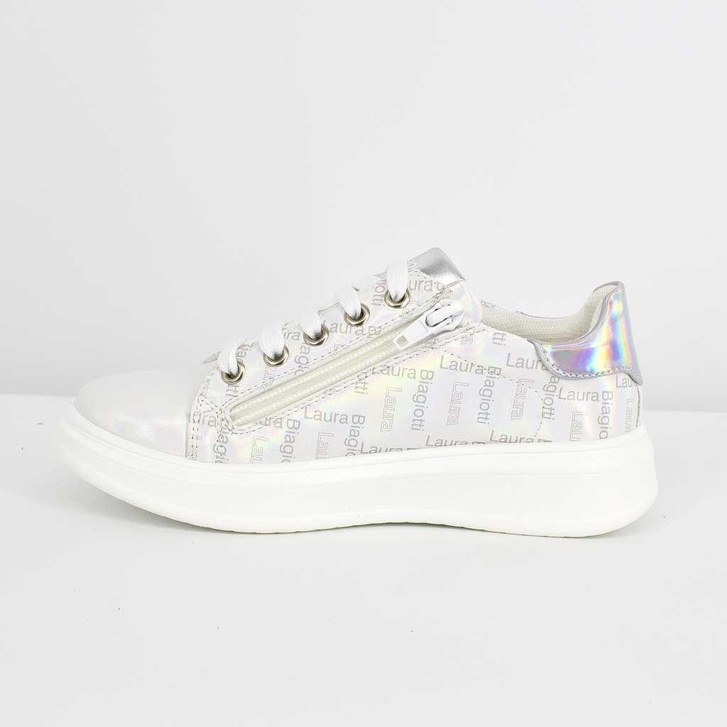 Immagine di LAURA BIAGIOTTI - Sneakers bassa con sottopiede in pelle