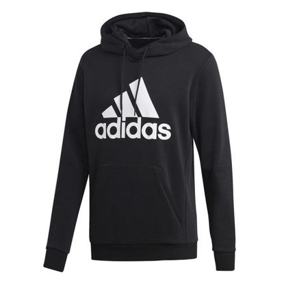 Immagine di ADIDAS - SWEAT C/CAPP MH BOS FT BLACK-WHITE