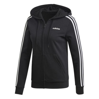 Immagine di ADIDAS - SWEAT C/CAPP. 3S BLACK-WHITE