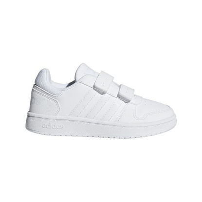 Immagine di ADIDAS - SCARPA HOOPS 2.0 PS 28-35 WHITE-WHITE