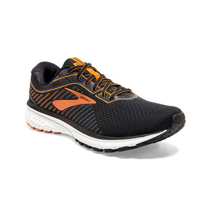 Immagine di BROOKS - SCARPA GHOST 12 BLACK-ORANGE