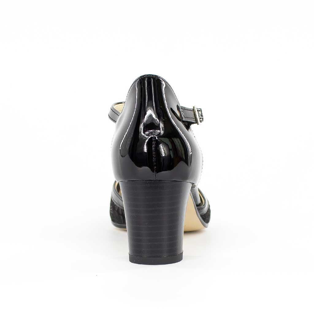 Immagine di CHIARA COMFORT - Décolleté con cinturino MADE IN ITALY tacco 6cm