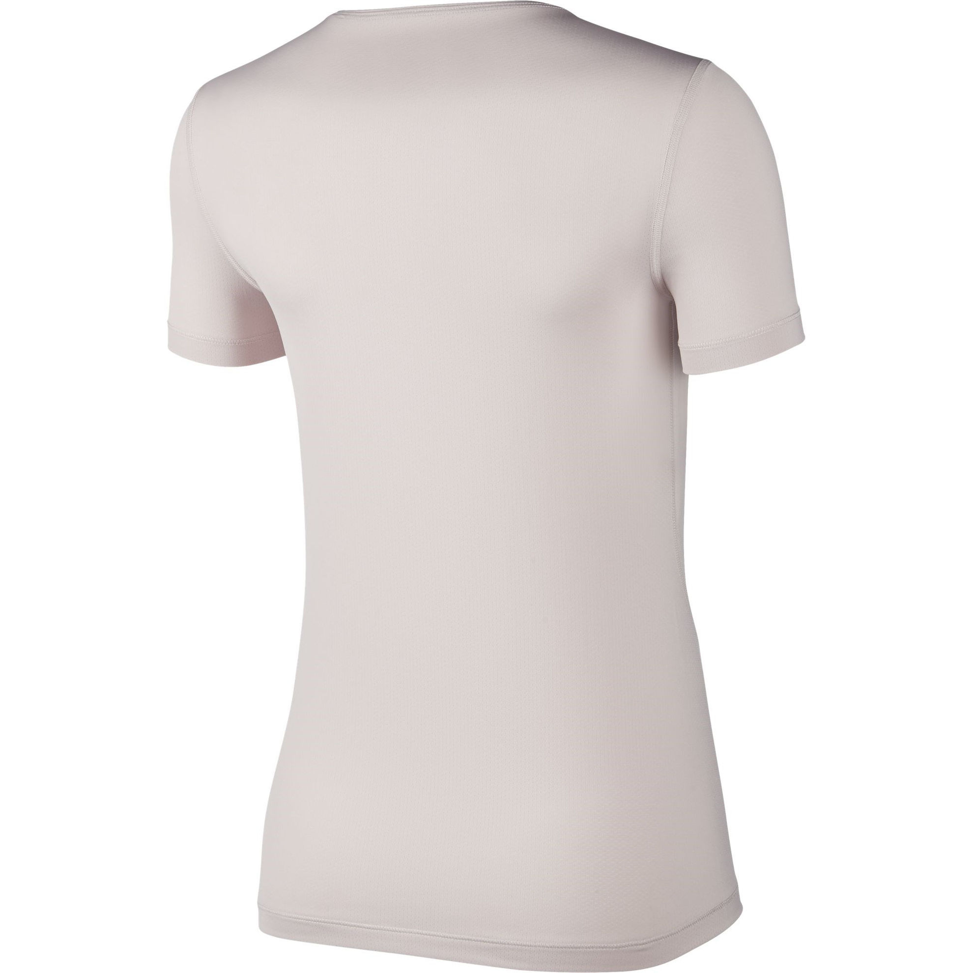 NIKE T SHIRT MM 365 TOP SS ESSENTIAL ROSE WHT