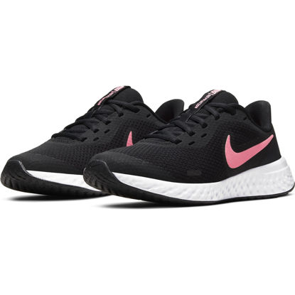 Immagine di NIKE - SCARPA REVOLUTION 5 GS 3%-7 BLACK-PINK