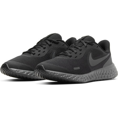 Immagine di NIKE - SCARPA REVOLUTION 5 GS 3%-7 BLACK-ANTHRA