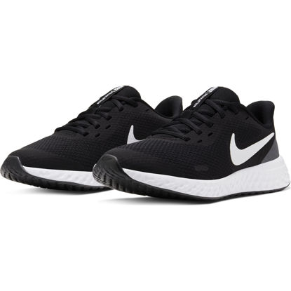 Immagine di NIKE - SCARPA REVOLUTION 5 GS 3%-7 BLACK-WHITE