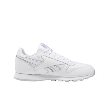 Immagine di REEBOK - SCARPA CLASSIC LEATHER GS 4-6 WHITE-GREY
