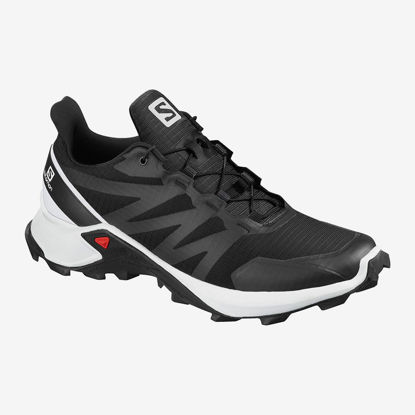 Immagine di SALOMON - SCARPA SUPERCROSS BLACK-WHITE-BLACK