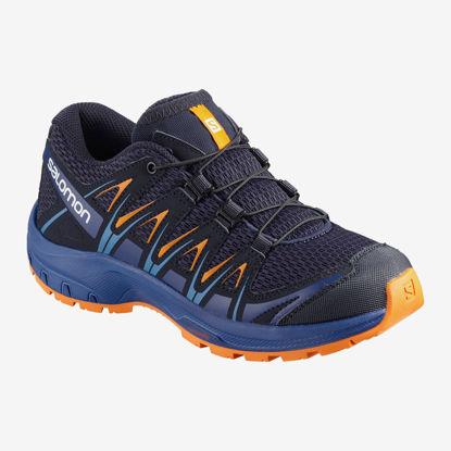 Immagine di SALOMON - SCARPA XA PRO 3D GS 31-39 BLUE-ROY-YELLO