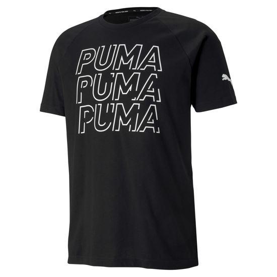 Immagine di PUMA  -  T-SHIRT MM MODERN SPORTS LOGO BLACK-WHT