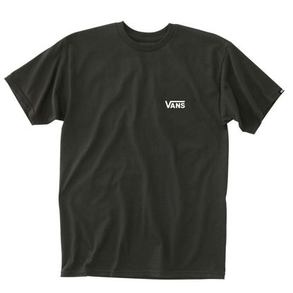 Immagine di VANS - T-SHIRT MM  LEFT CHEST LOGO TEE BLACK