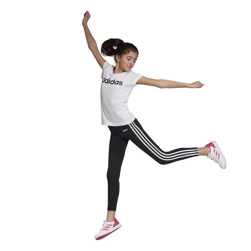 Immagine di ADIDAS  -  LEGGINGS JR 3S TIGHT BLACK-WHITE