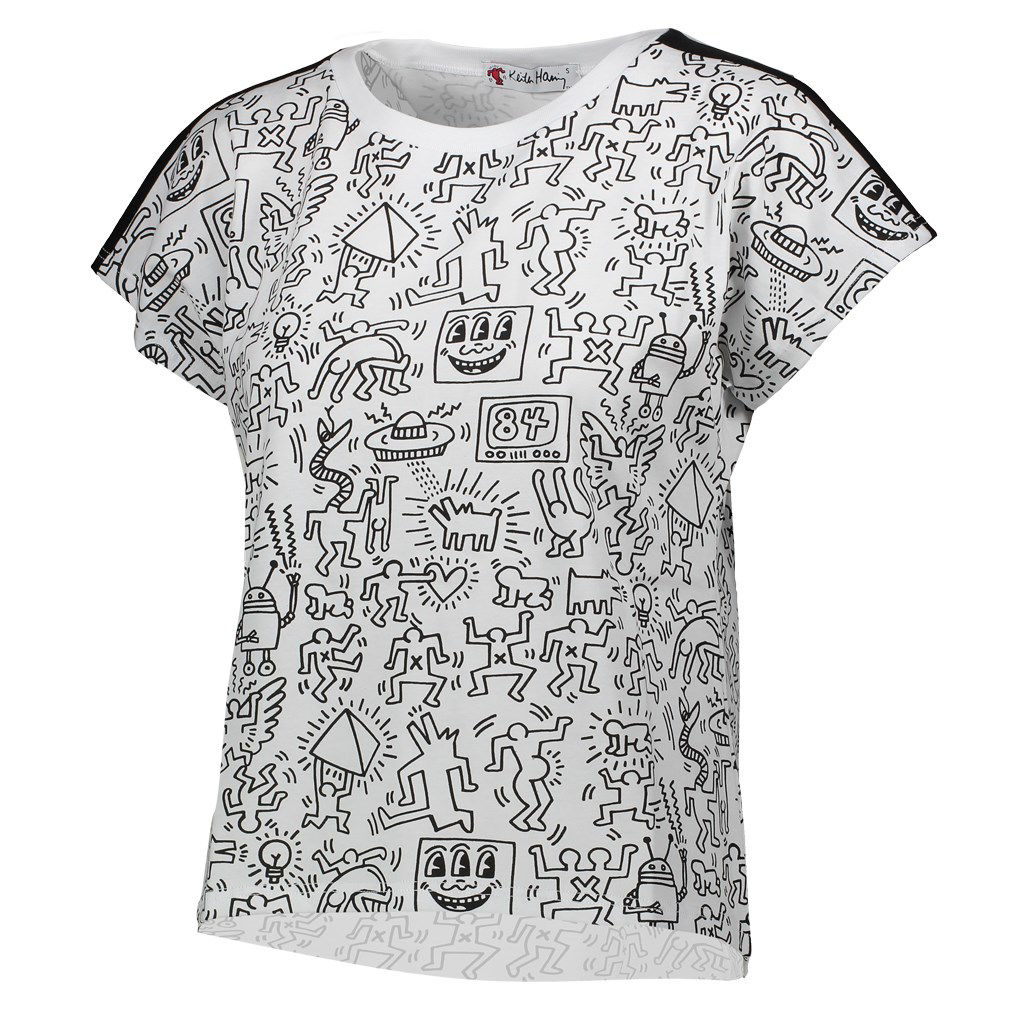 Immagine di KEITH HARING - DONNA MAXI TSHIRT MM ALL OVER