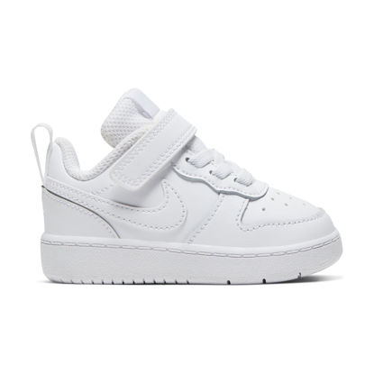 Immagine di NIKE - SCARPA COURT BOROUGH LOW 2 TD 4-10 WHITE
