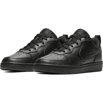 Immagine di NIKE - SCARPA COURT BOROUGH LOW 2 GS 3%-7 BLACK