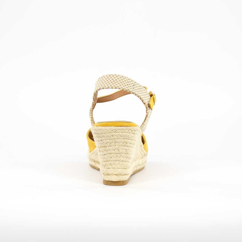 Immagine di VANILLA PUNK- Espadrillas con cinturino alla caviglia, zeppa 8cm