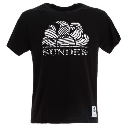 Immagine di SUNDEK - T-SHIRT MM NEW WILLY ZEN TANGLE BLACK