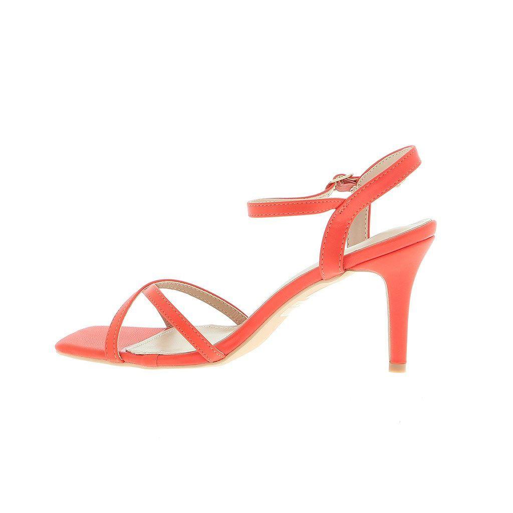 Immagine di PEPITA REI- Sandalo con punta quadrata e fascette incrociate, tacco 9CM