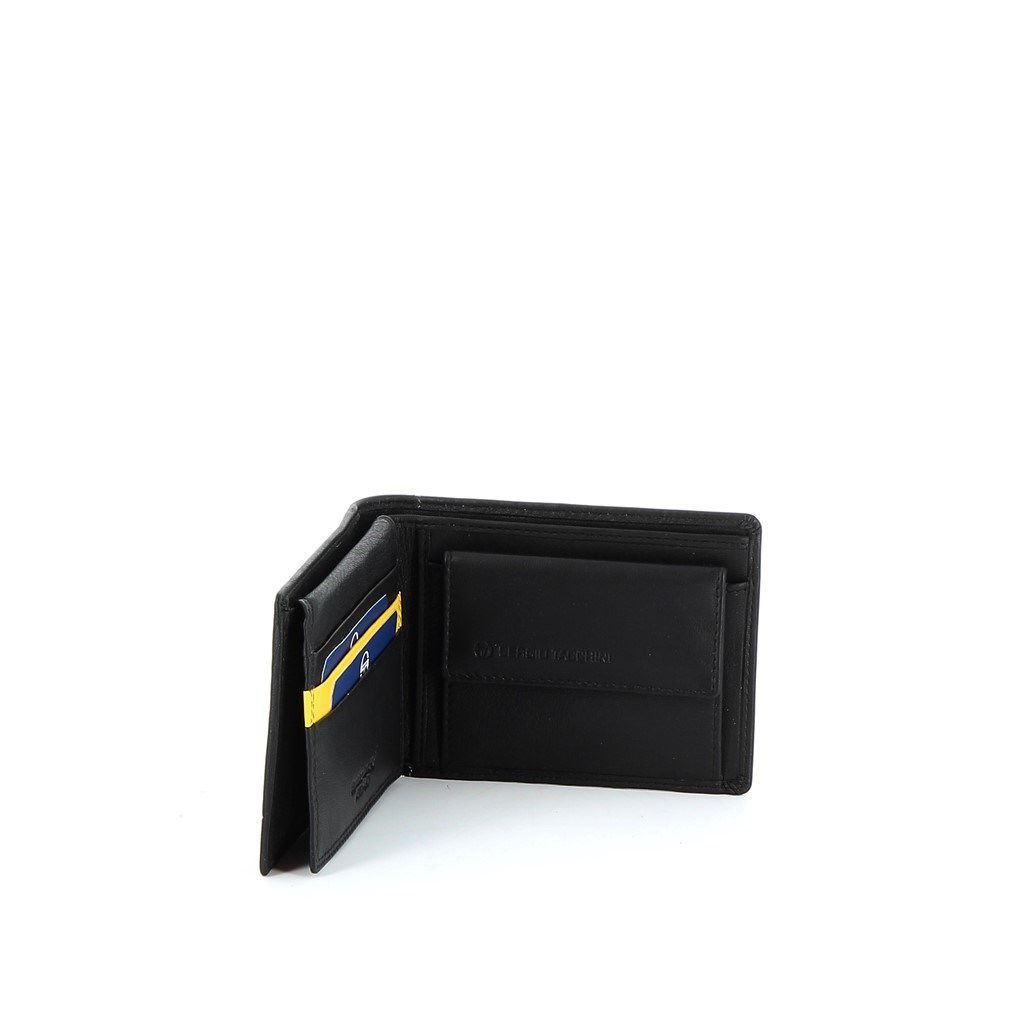 Immagine di SERGIO TACCHINI- Portafoglio in VERA PELLE con doppio scomparto banconote