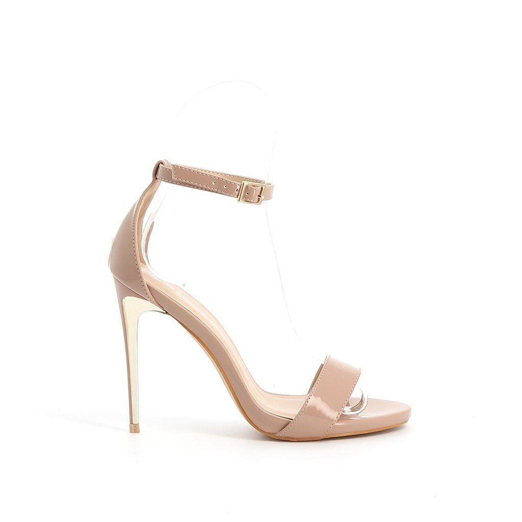 Immagine di PEPITA REI- Sandalo con cinturino alla caviglia, tacco 11CM