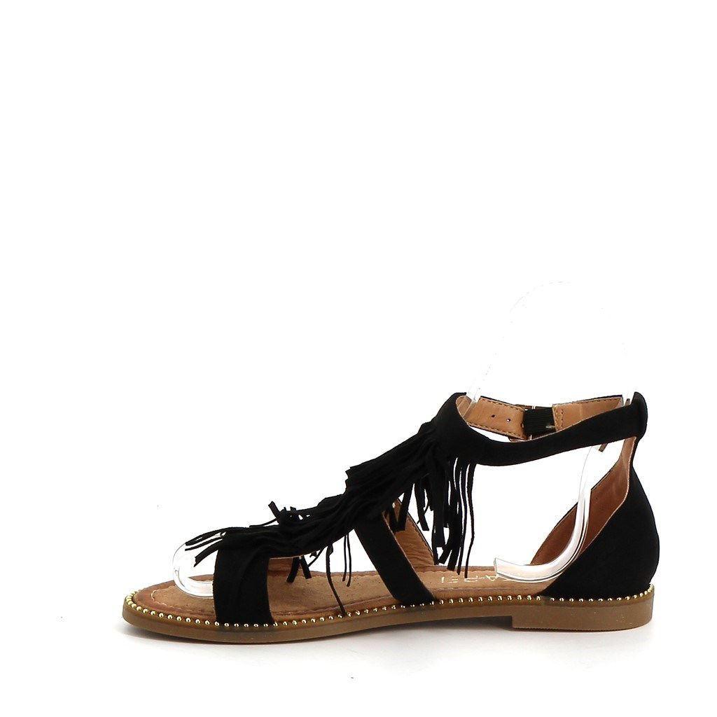 Immagine di PEPITA REI- Sandalo con frange e cinturino alla caviglia