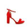 Immagine di VANILLA PUNK- Sandalo con borchie sul tallone e cinturino alla caviglia, tacco 9,5CM