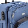 Immagine di COVERI YY- Trolley in tessuto con 4 ruote ed espansione, misure CM 55x39x20