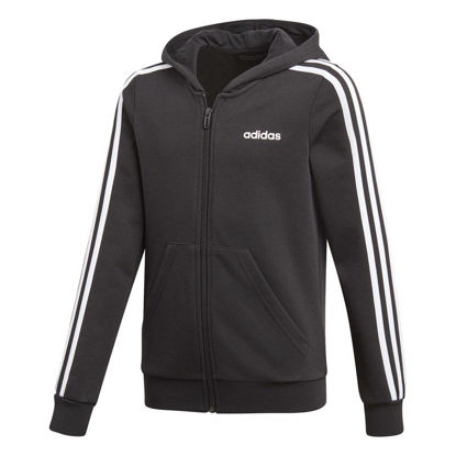 Immagine di ADIDAS - JACKET C/CAPP.E 3S FZ HD BLACK-WHITE