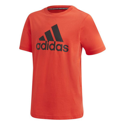 Immagine di ADIDAS - T-SHIRT MM MH BOS T RED-BLACK