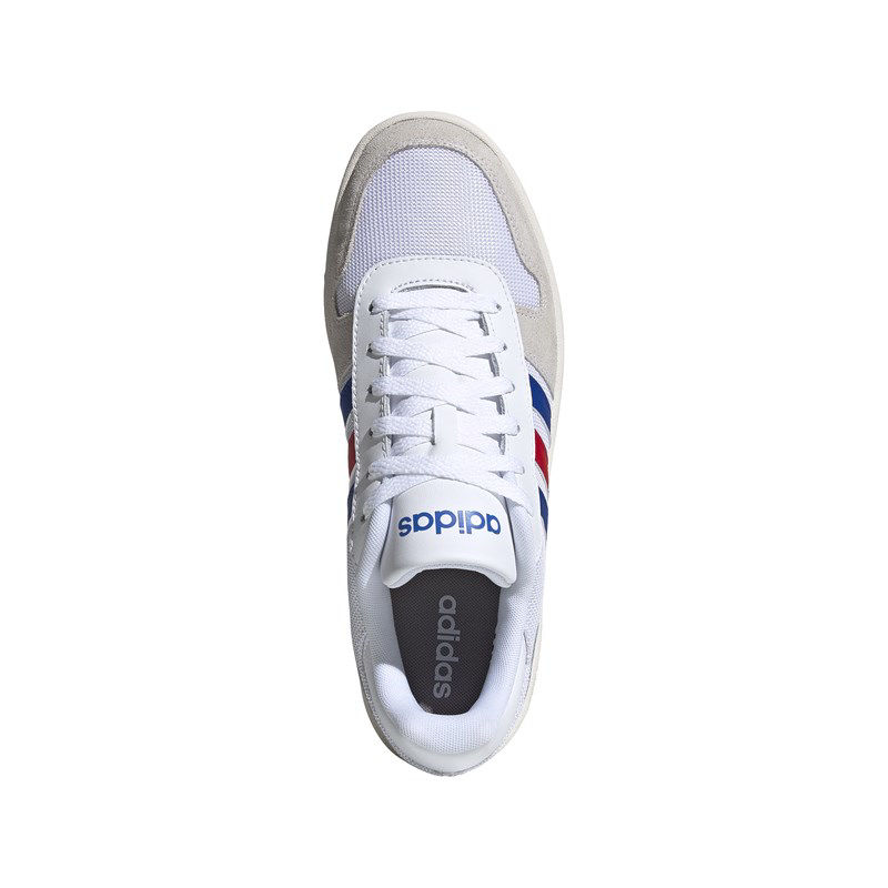 Immagine di ADIDAS - SCARPA HOOPS 2.0 WHITE-ROYAL-RED