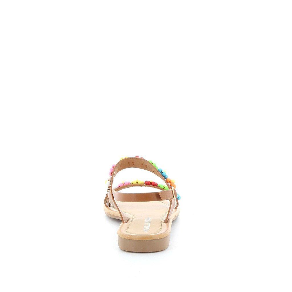Immagine di VANILLA PUNK- Sandalo con applicazioni perline a fiori