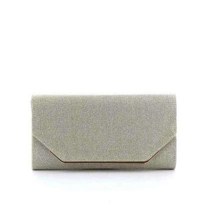 Immagine di DIVAS- Pochette lurex con bordo metallico a chiusura