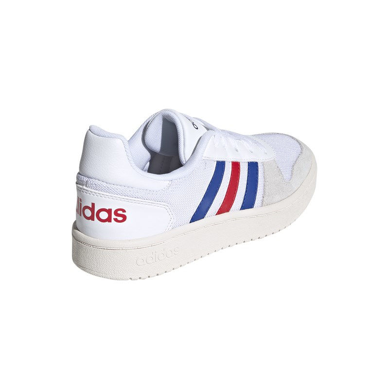 Immagine di ADIDAS - SCARPA HOOPS 2.0 GS 3%-5% WHITE-ROY-RED