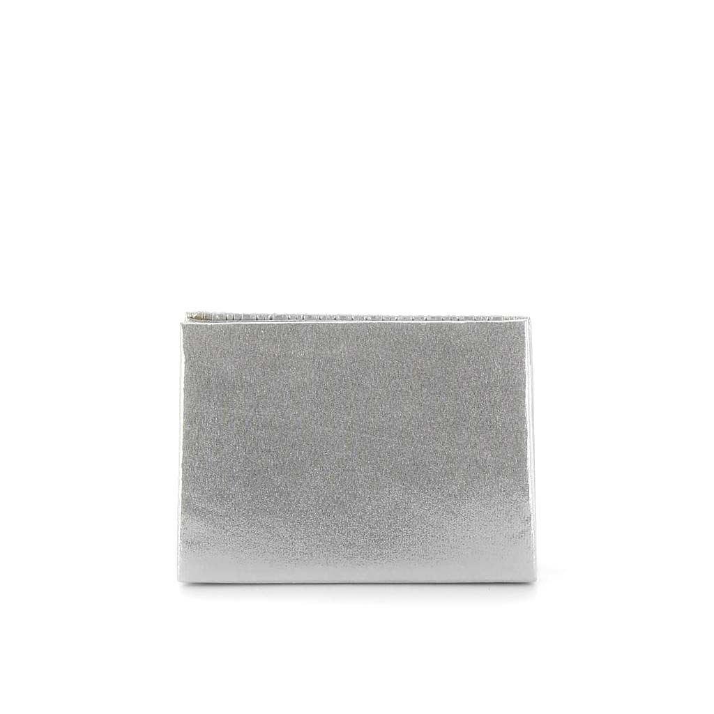 Immagine di MISS GLOBO- Pochette triangolare con fasce strass verticali