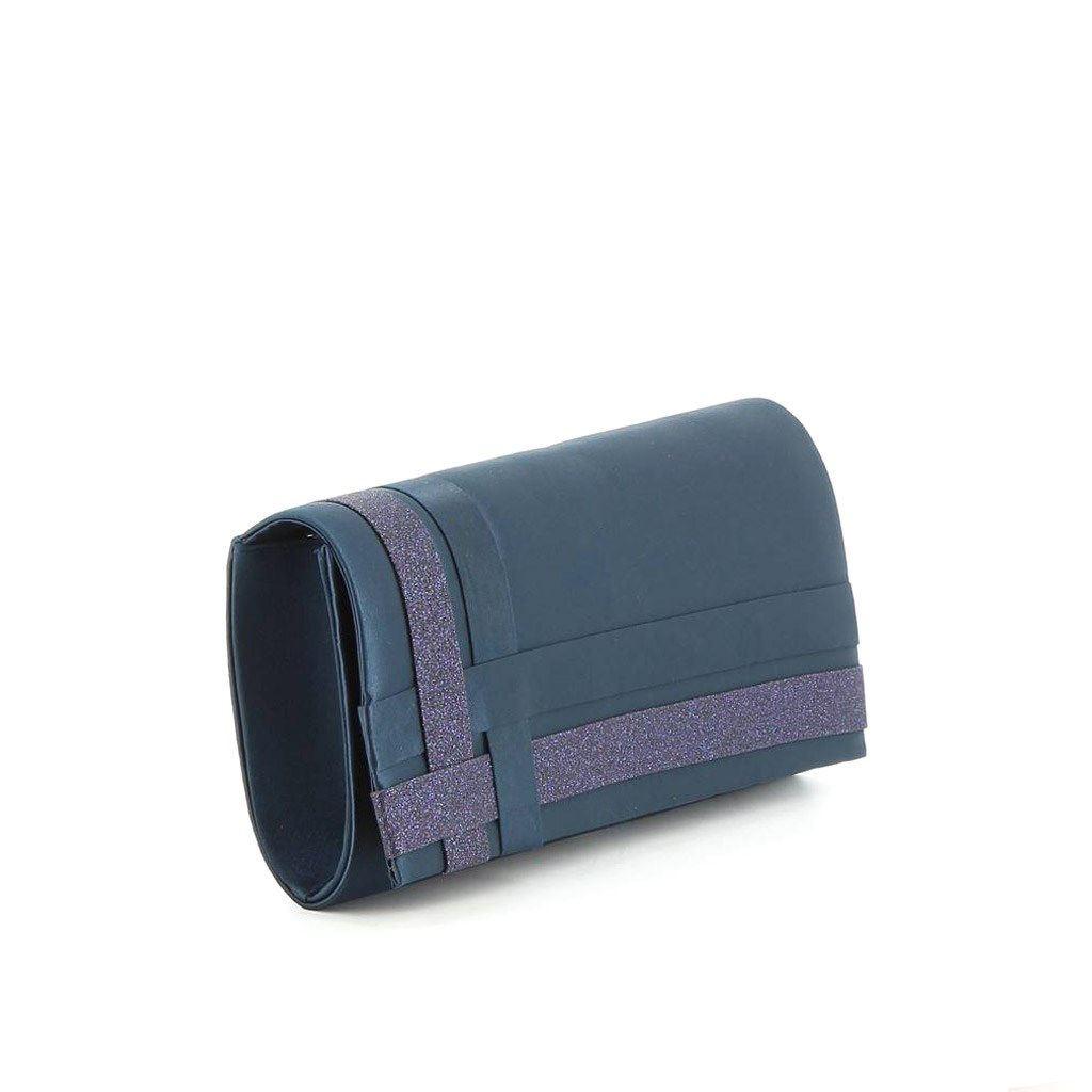 Immagine di MISS GLOBO- Pochette con fascete incrociate laterali su patta