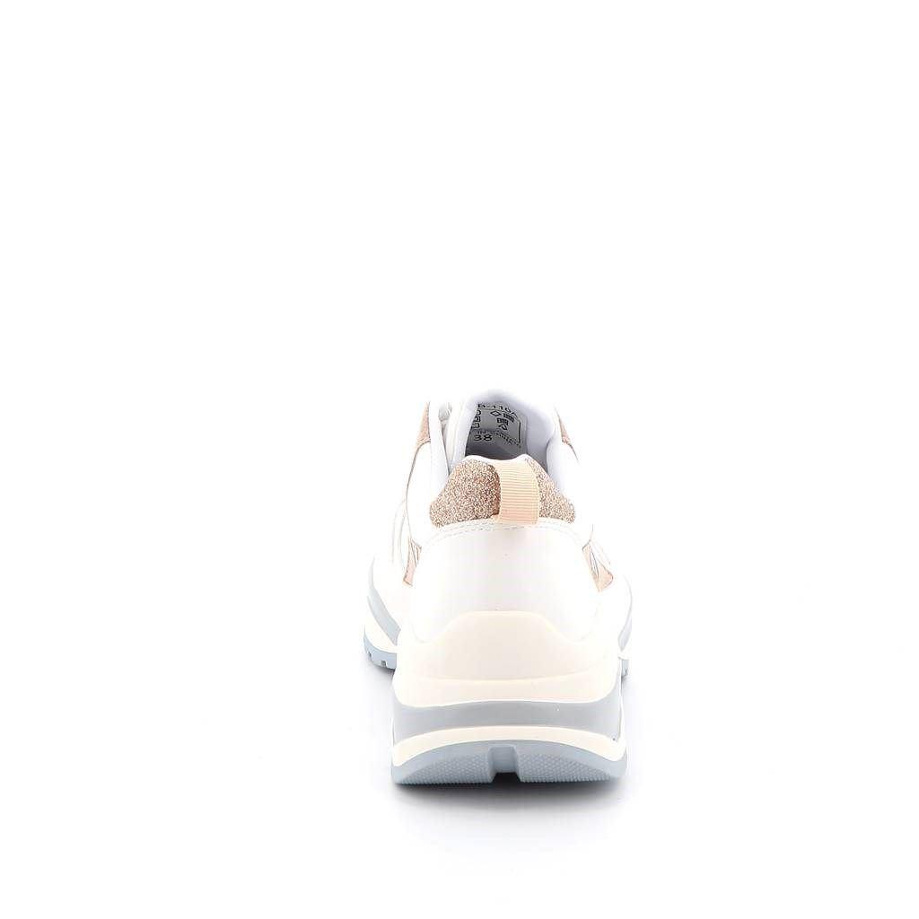 Immagine di K66 FIRENZE- Sneakers bassa multimateriale con inserti glitter