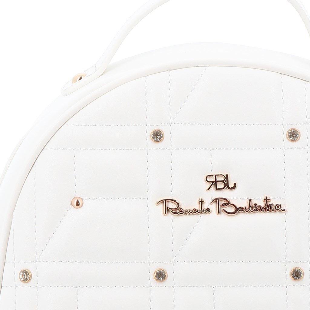 Immagine di RBJ RENATO BALESTRA- Zaino trapuntato con borchie tonde e strass