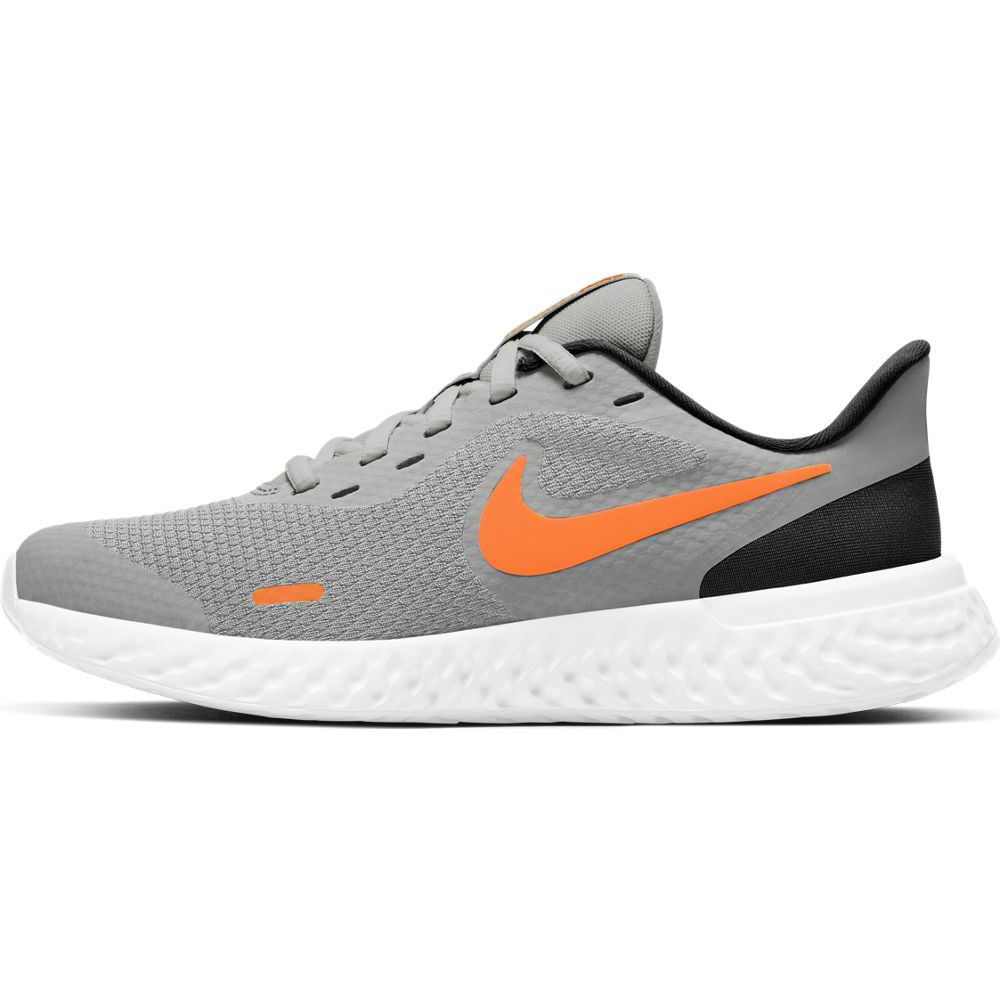 Immagine di NIKE - SCARPA REVOLUTION 5 GS 3%-7 GREY-ORANGE