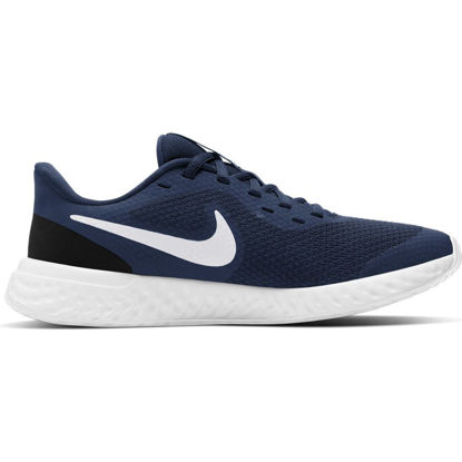 Immagine di NIKE - SCARPA REVOLUTION 5 GS 3%-7 NAVY-WHITE