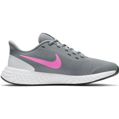 Immagine di NIKE - SCARPA REVOLUTION 5 GS 3%-7 GREY-PINK
