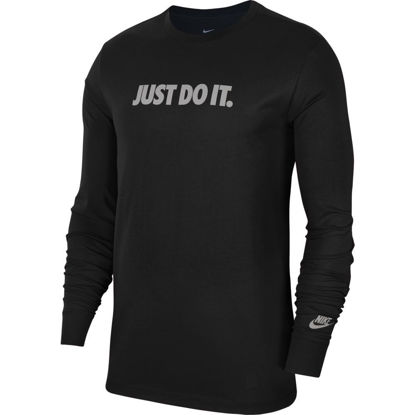 Immagine di NIKE - T-SHIRT ML NSW TEE JDI CUT OUT LBR BLK