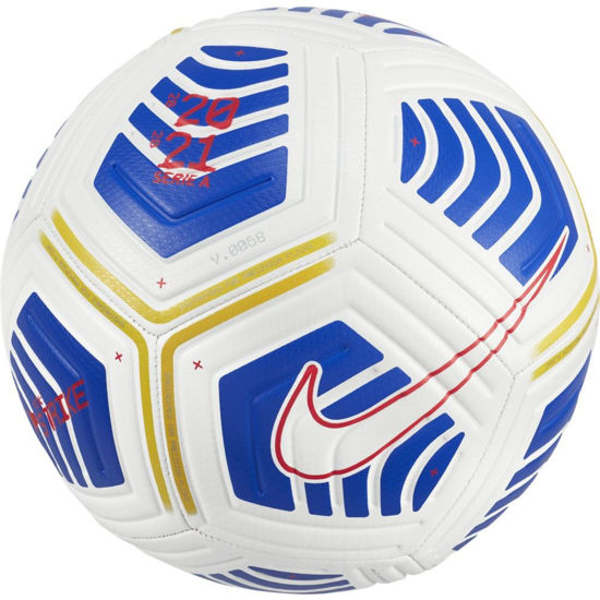 Immagine di NIKE - PALLONE SERIE A STRIKE WHITE-BLUE-RED