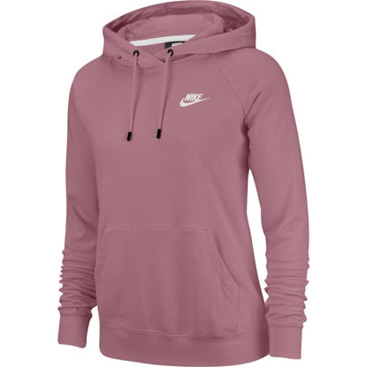 Immagine di NIKE - SWEAT C/CAPP.NSW ESSNTL HD PO FLC BERRY