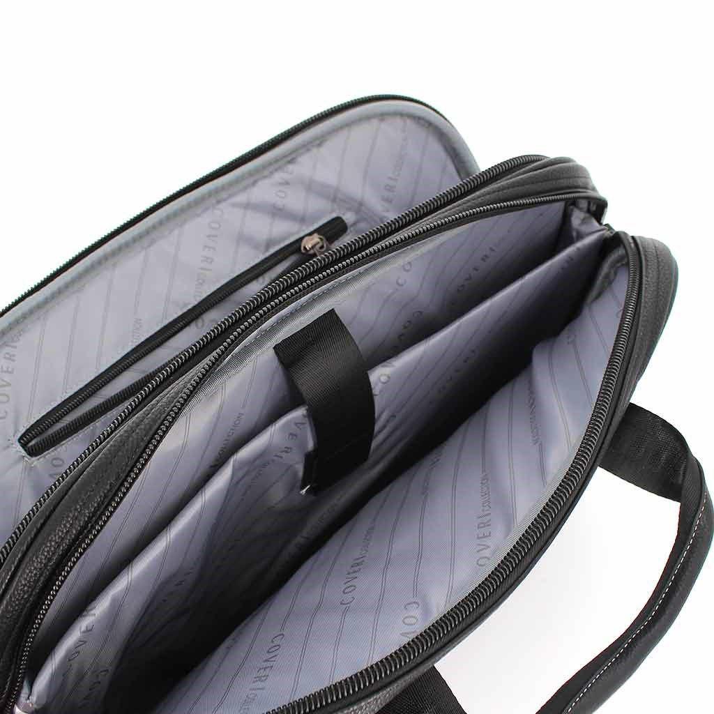 Immagine di COVERI COLLECTION- Cartella espandibile con scomparto porta pc e tracolla rimovibile
