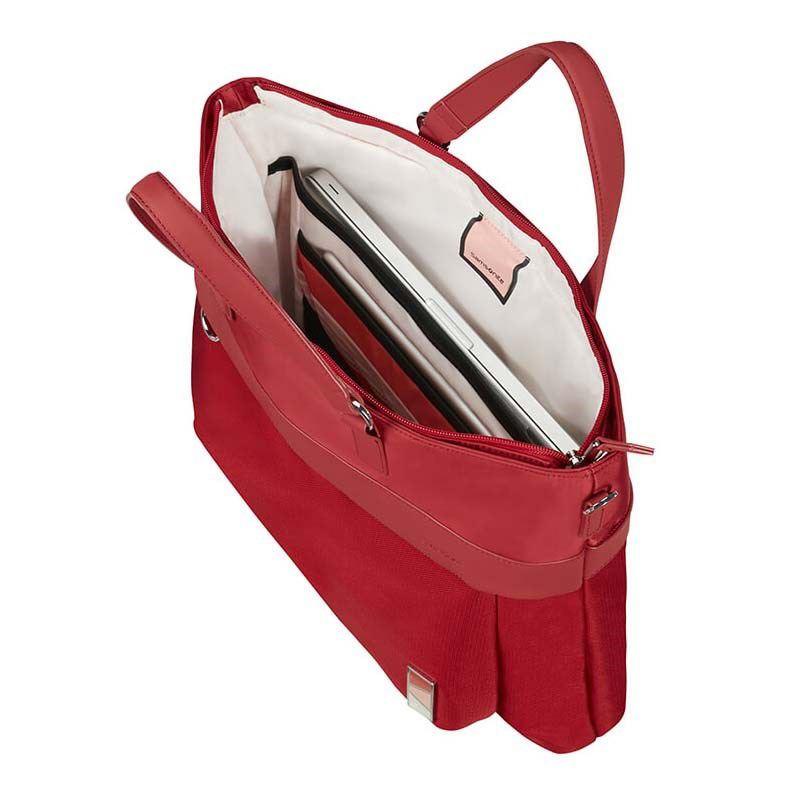 """Immagine di SAMSONITE- Cartella dua manici con tasca porta computer fino a 15.6"""" e tracolla rimovibile"""