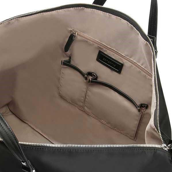 Immagine di SAMSONITE- Borsone in VERA PELLE con tasca frontale e tracolla rimovibile