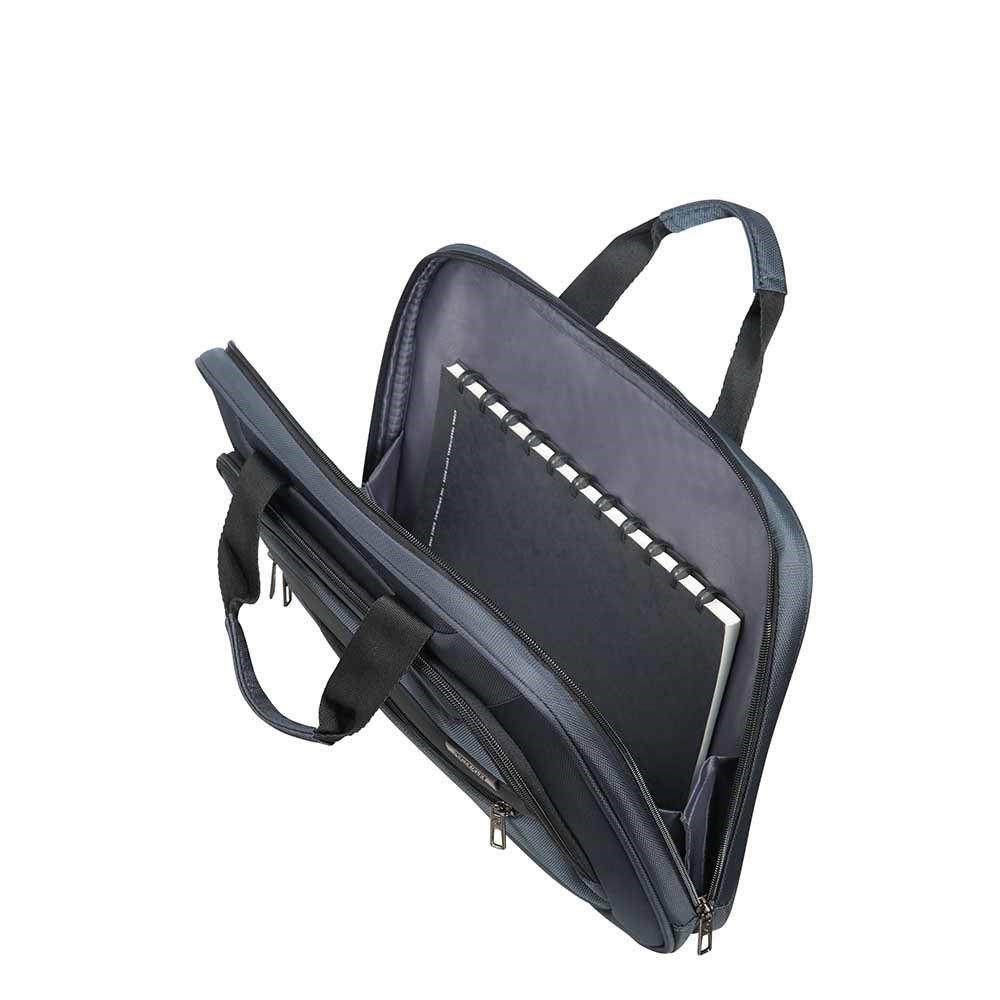 """Immagine di SAMSONITE- Cartella piatta porta computer fino a 15.6"""" con due manici"""