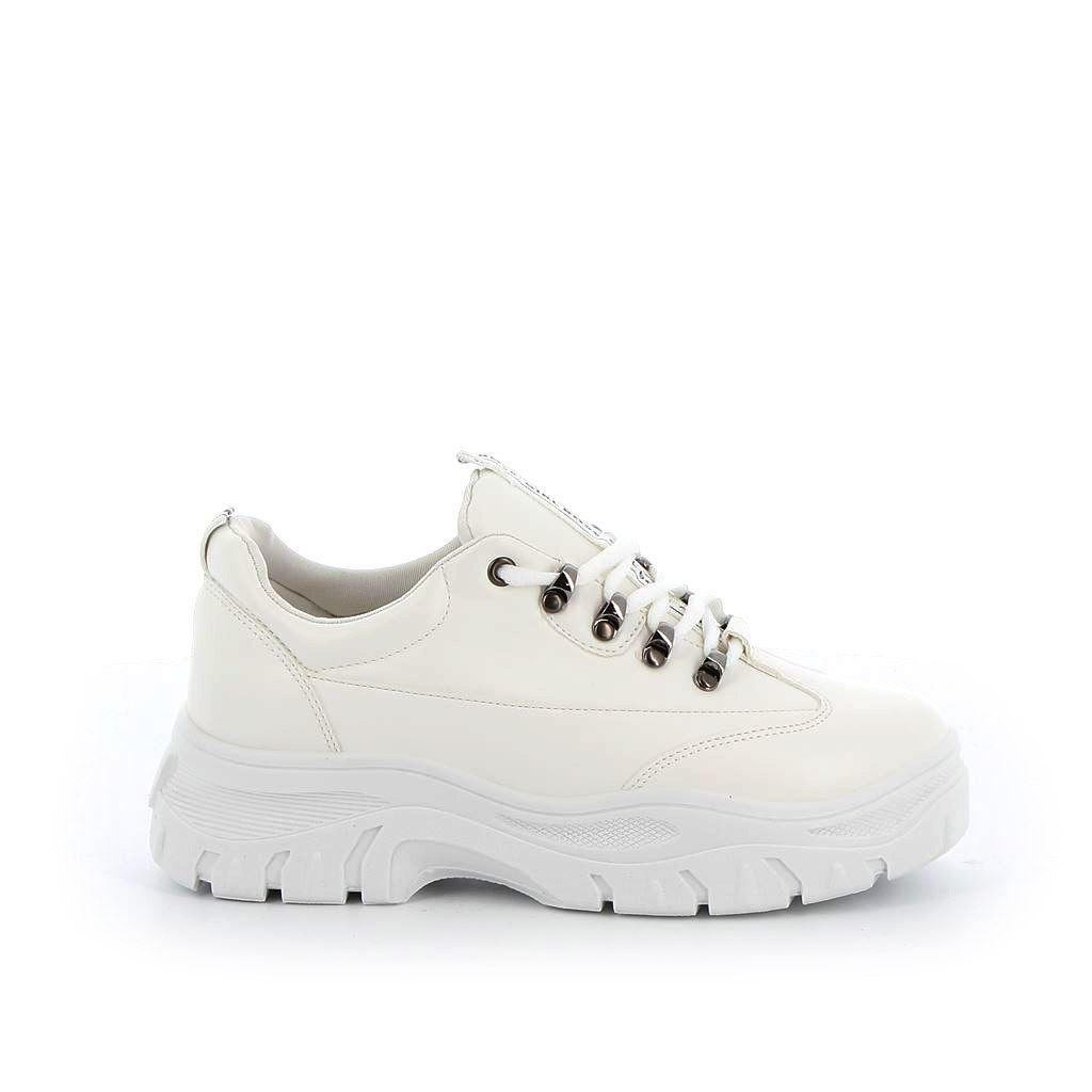 Immagine di VANILLA PUNK- Sneakers bassa con fondo alto e dettagli metallici